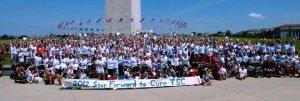 TSC walk in Washington DC. 2012 We are in the bottom left corner.