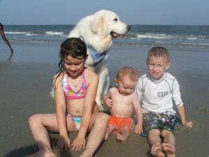 Beach trip, Beaufort S.C.