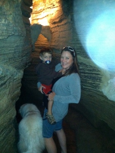 Howe Caverns, New York160-200 feet below ground. D, loved the cool.